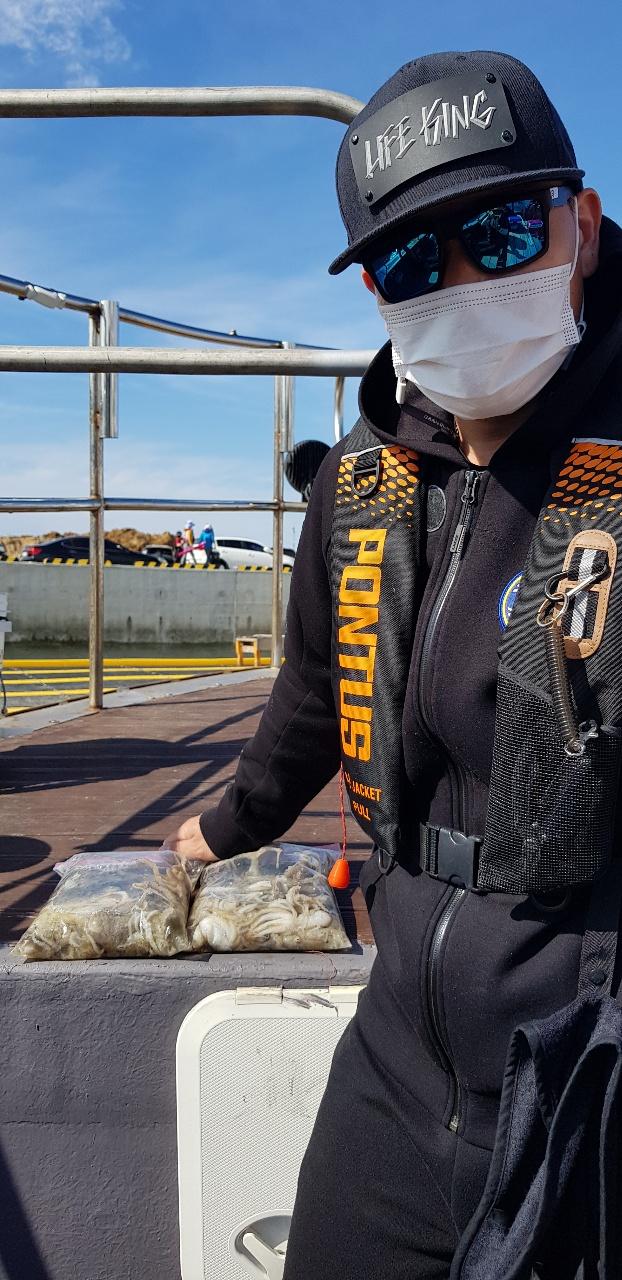 장고항 해안선호 9월 20일 조황사진입니다